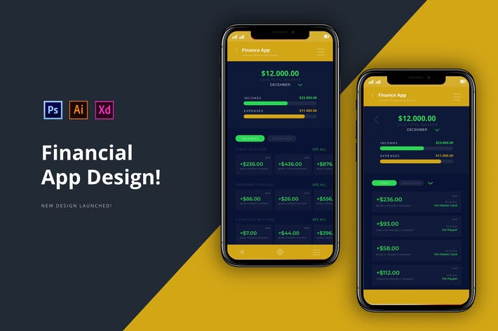 Thumbnail for Financial App
