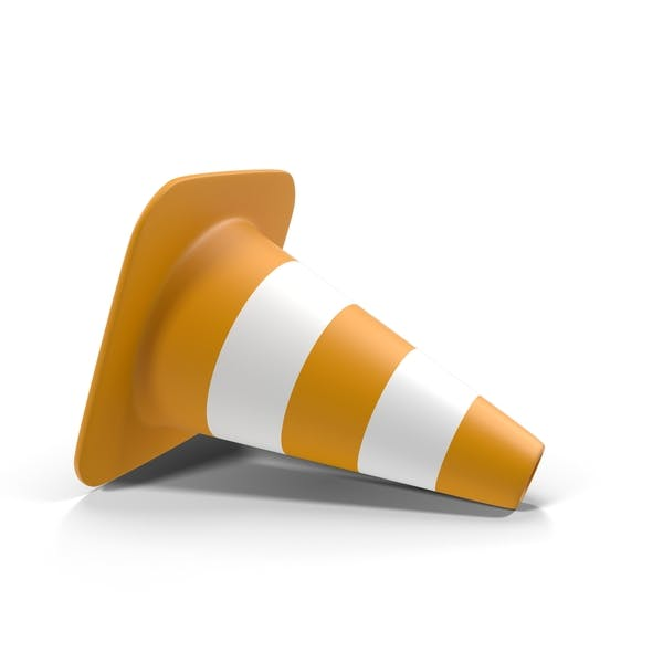 Fallen Traffic Cone