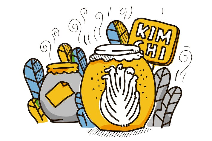 Thumbnail for Kimchi famous healthy Korean food