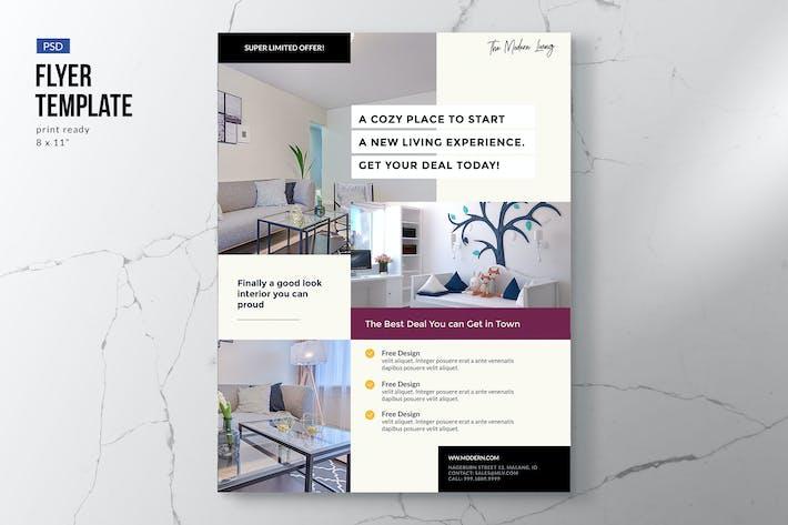 Cover Image For Elegant Furniture Flyer