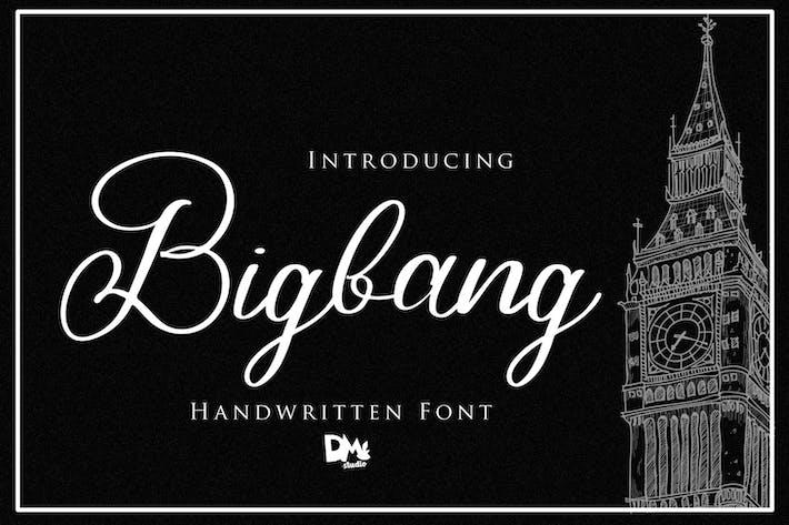 Thumbnail for Bigbang - Handwritten Font