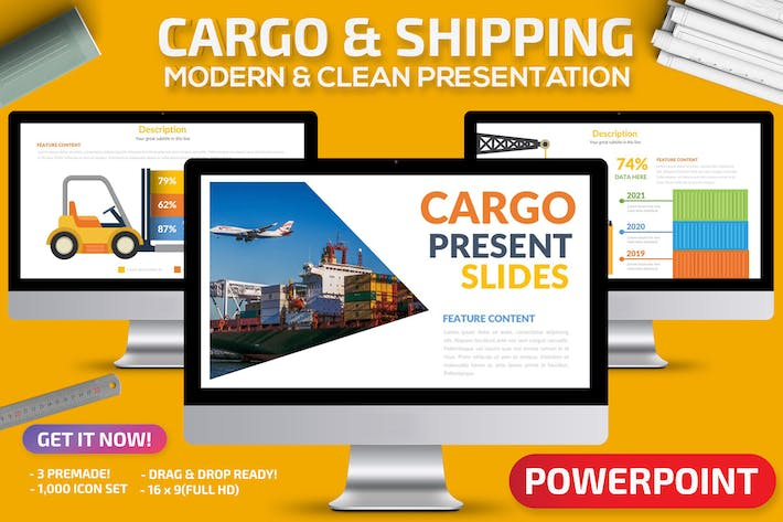 Thumbnail for Cargo & Shipping Powerpoint Presentation