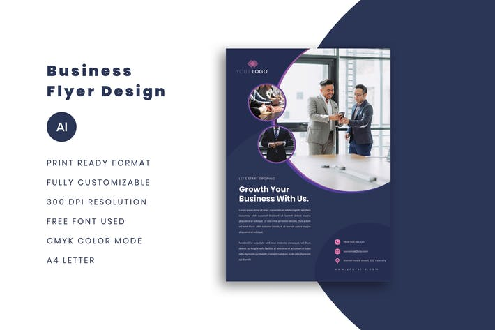 Thumbnail for Minimalist Business Flyer