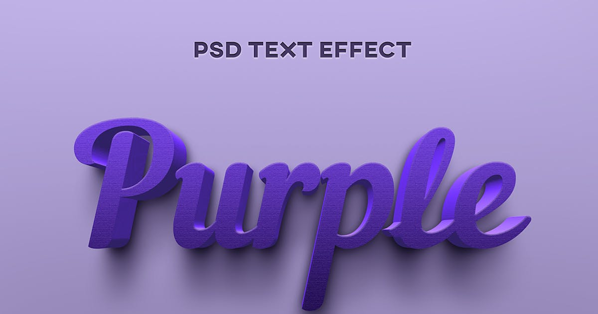 Download Purple texture text effect by wudelmbois