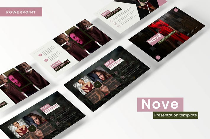 Thumbnail for Nove - Powerpoint Template