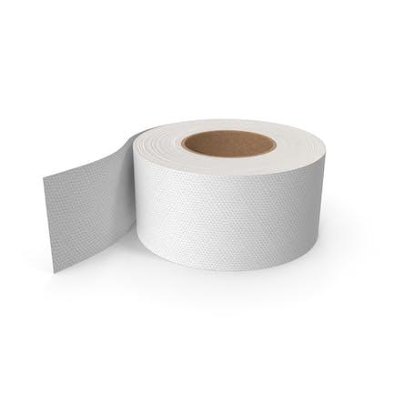 Papel higiénico con rollo grande