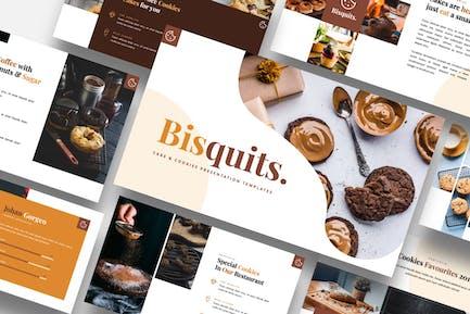 Bisquits - Cake & Cookies Keynote Template