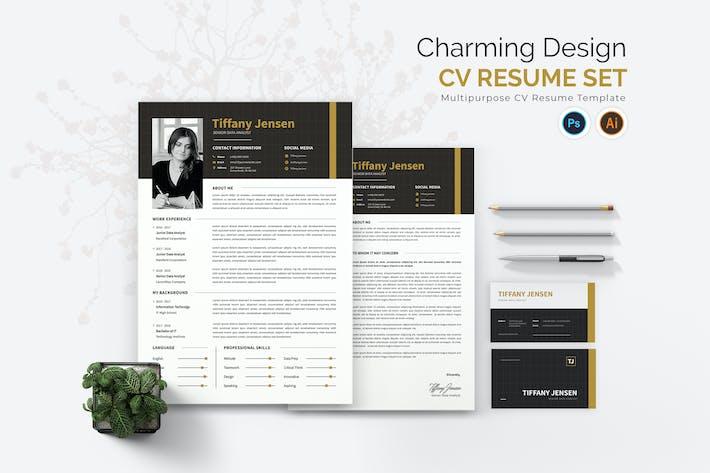 Charming Design CV Kit CV