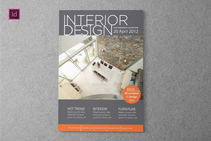 Thumbnail for INTERIOR - Design Magazine Template