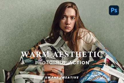Warm Aesthetic Photoshop Action