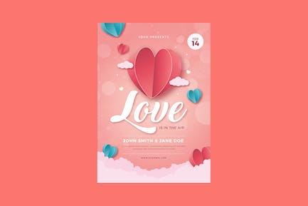 Valentine Event Flyer