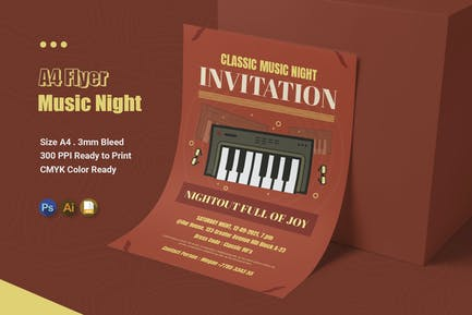 Music Night - Flyer