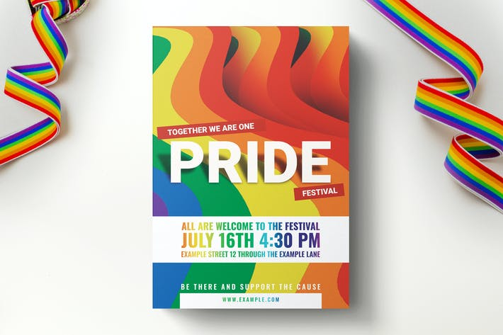 Thumbnail for Pride Flyer Template