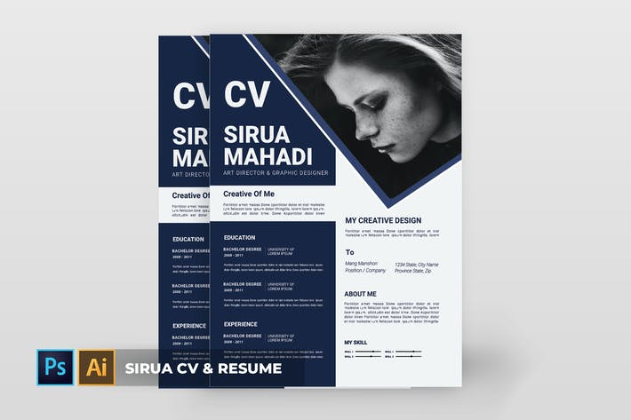 Thumbnail for Sirua | CV & Resume
