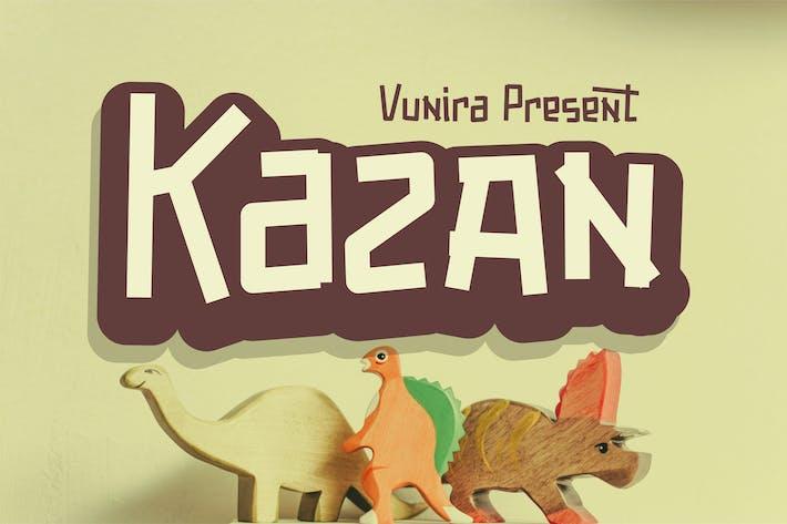 Thumbnail for Kazan | Fancy Font