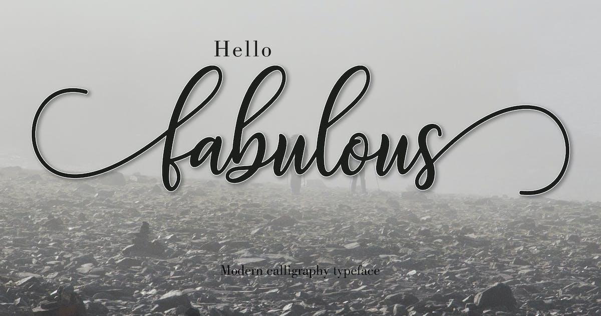 Download Fabulous Script by amarlettering