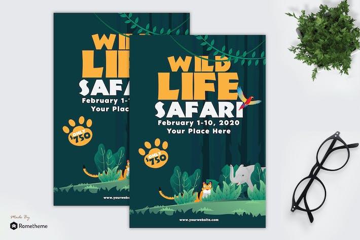 Thumbnail for Wildlife Safari - Flyer GR