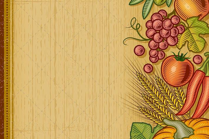Thumbnail for Fondo Retro de la cosecha