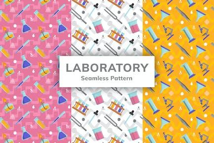 Laboratory Seamless Pattern