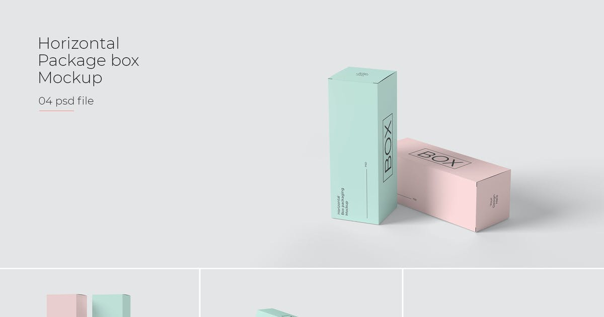 Download Package Box Mockup by one_zero
