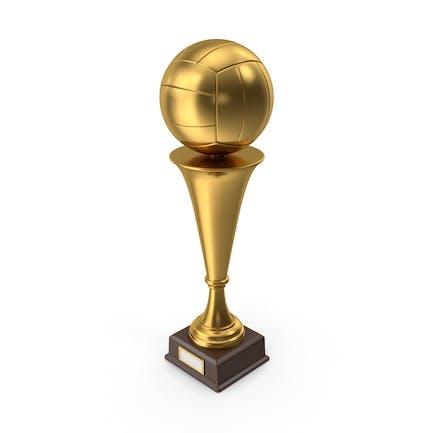 Golden Trophy Volleyball