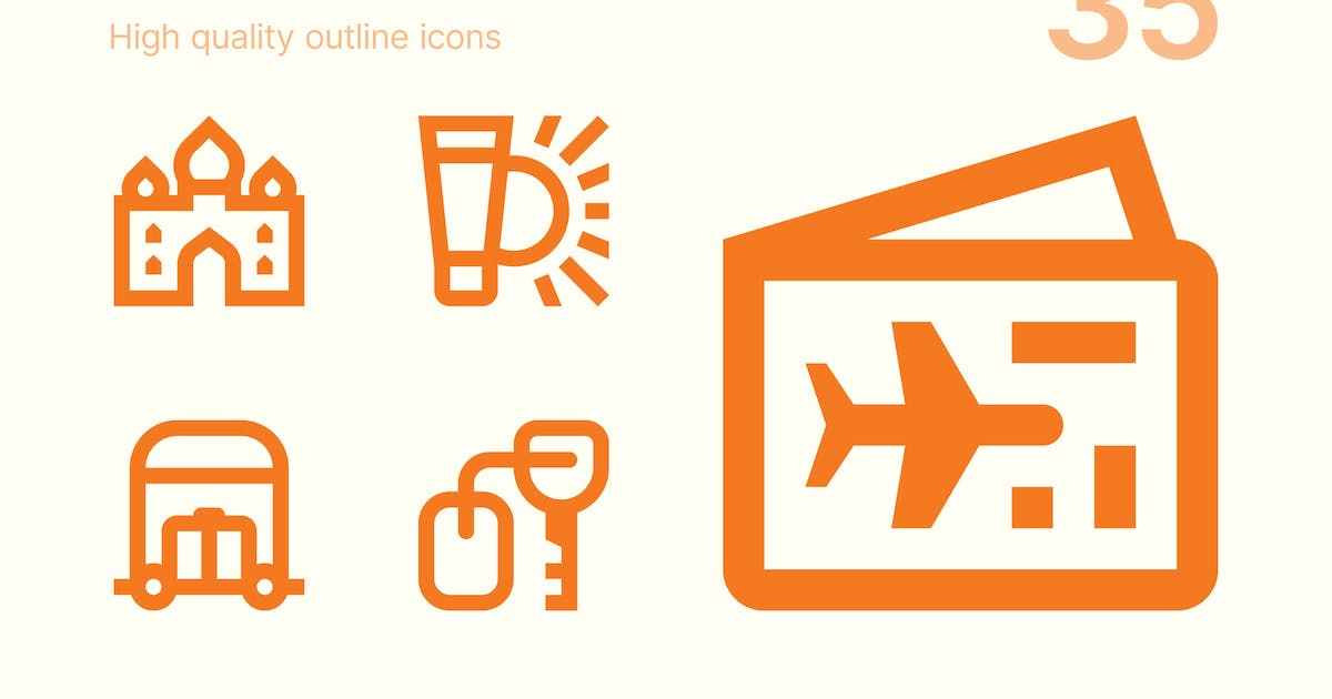 Download Vacation icons by polshindanil