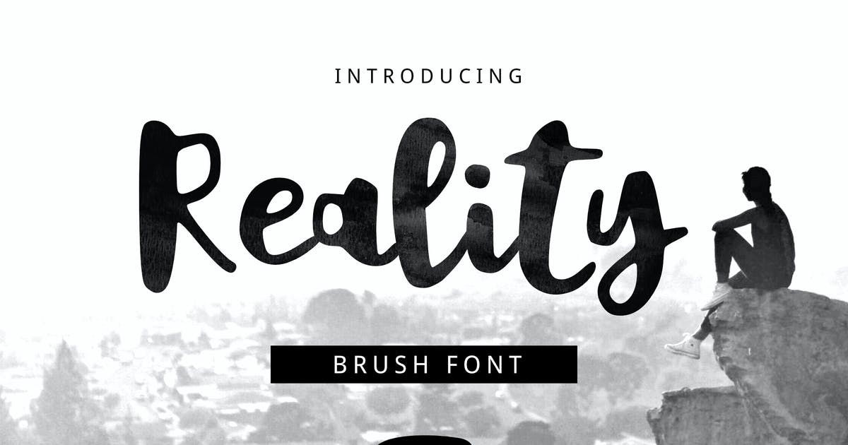 Download Reality Brush Font by yandidesigns
