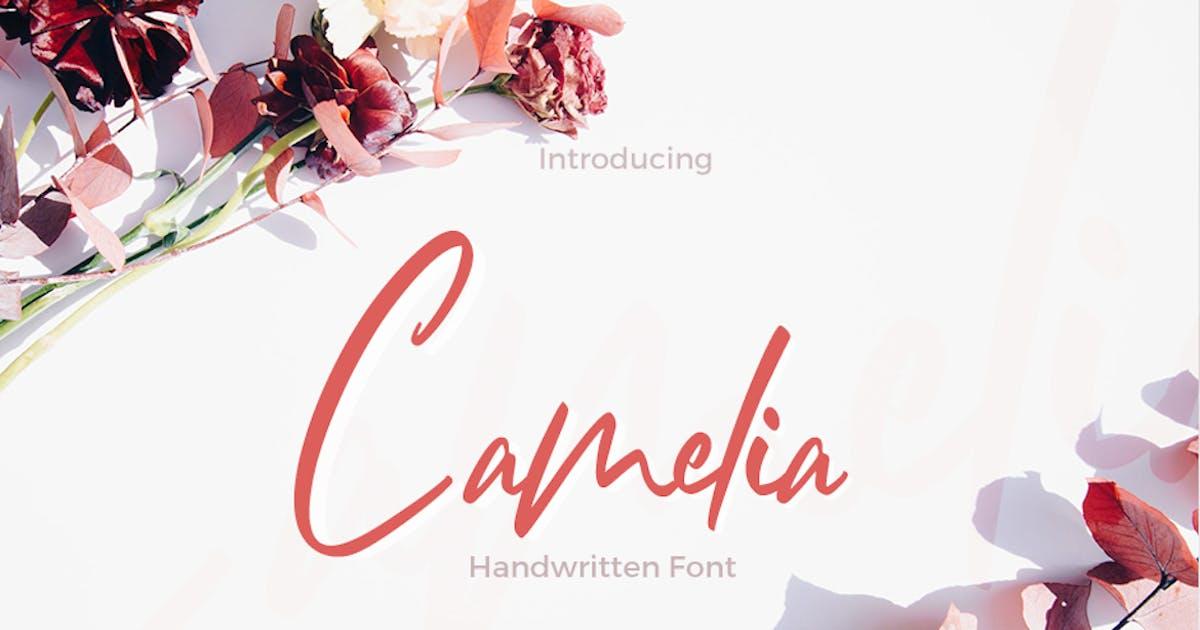 Download Camelia - Unique Handwritten Font by puricreative