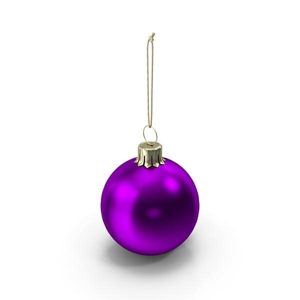 Thumbnail for Christmas Ball Purple