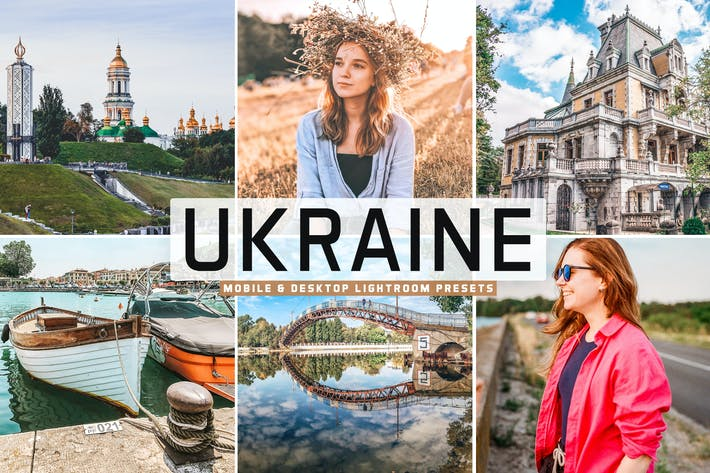 Thumbnail for Ukraine Mobile & Desktop Lightroom Presets