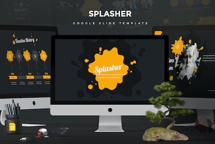 Splash Google FolienVorlage