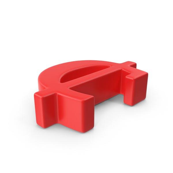 Red Cent Symbol