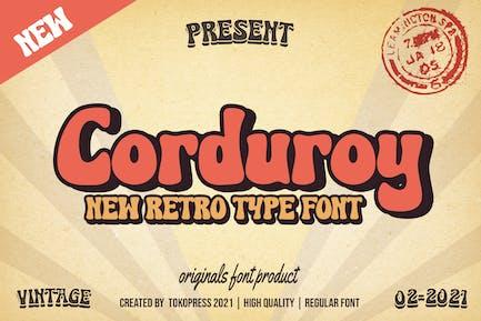Corduroy - Fuente clásica Groovy