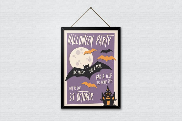 Thumbnail for Halloween Party Poster
