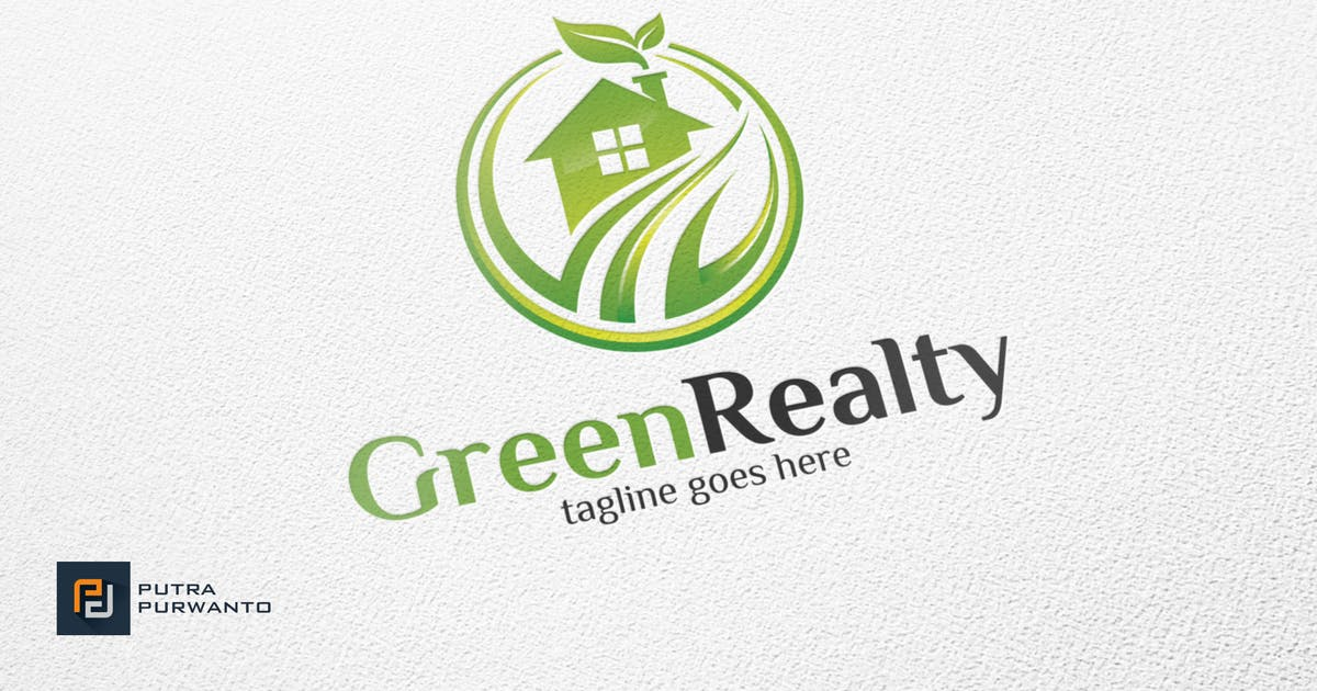 Download Green Realty / House - Logo Template by putra_purwanto