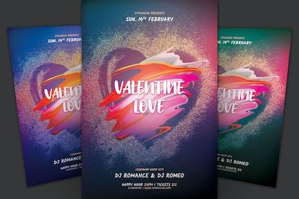 Valentine Love dépliant
