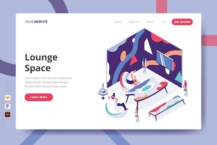 Lounge Space - Landing Page
