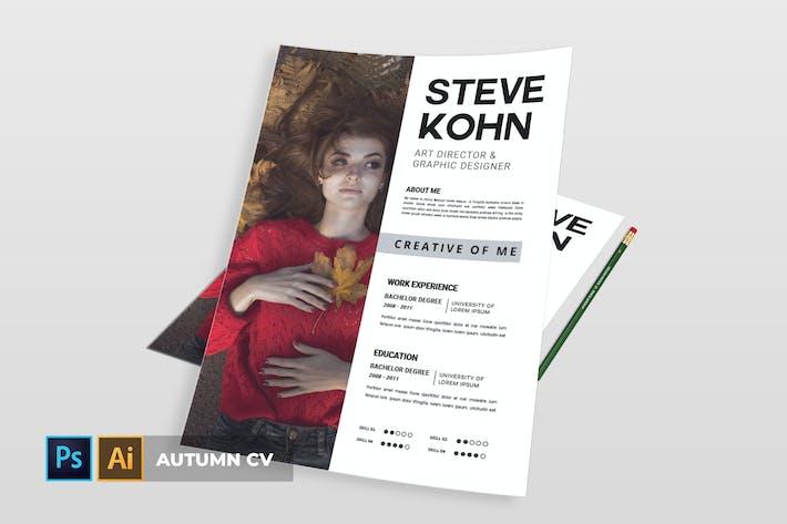Thumbnail for Autumn | CV & Resume
