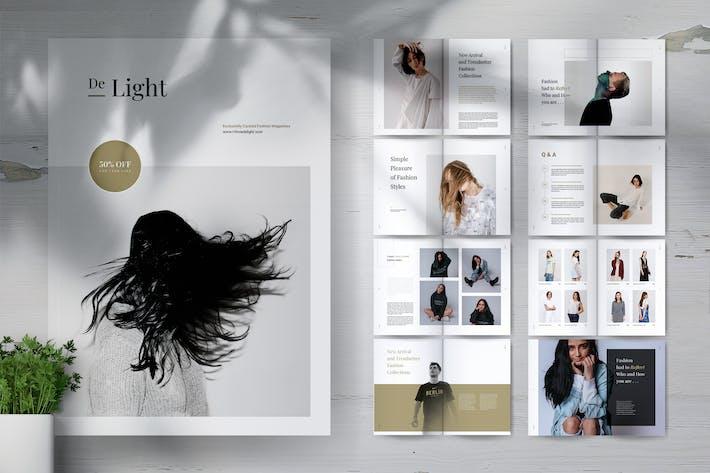 Thumbnail for DE LIGHT Minimalist Fashion Magazine