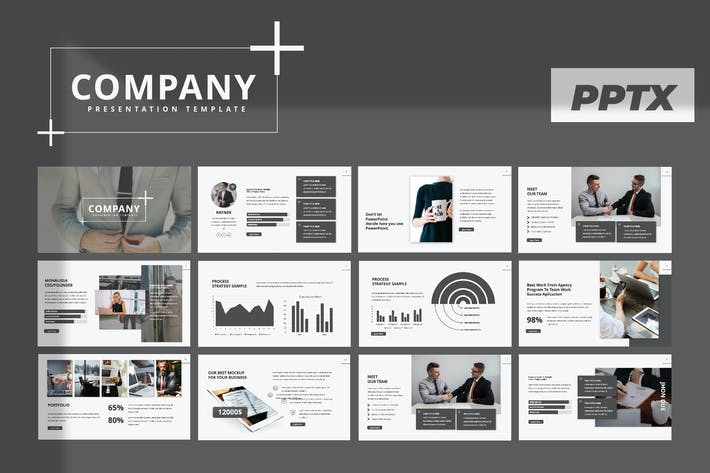 Cover Image For Company Powerpoint Template