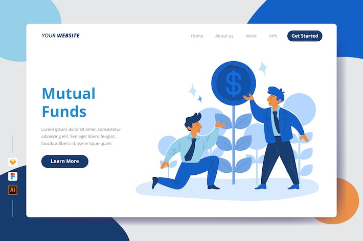 Mutual Funds - Landing Page
