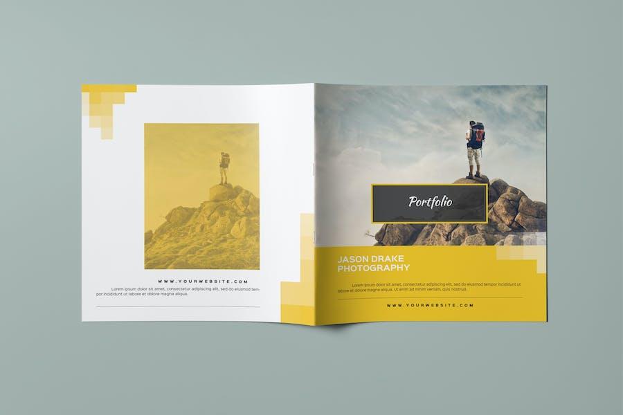 Portfolio Square Modern Catalog / Brochure