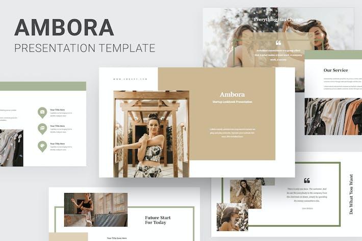 Thumbnail for Ambora - Summer Fashion Powerpoint