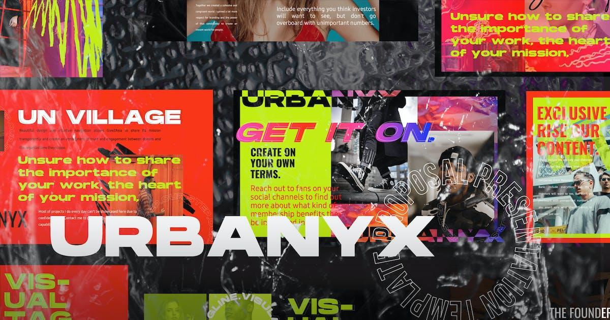 Download URBANYX - Powerpoint by dirtylinestudio
