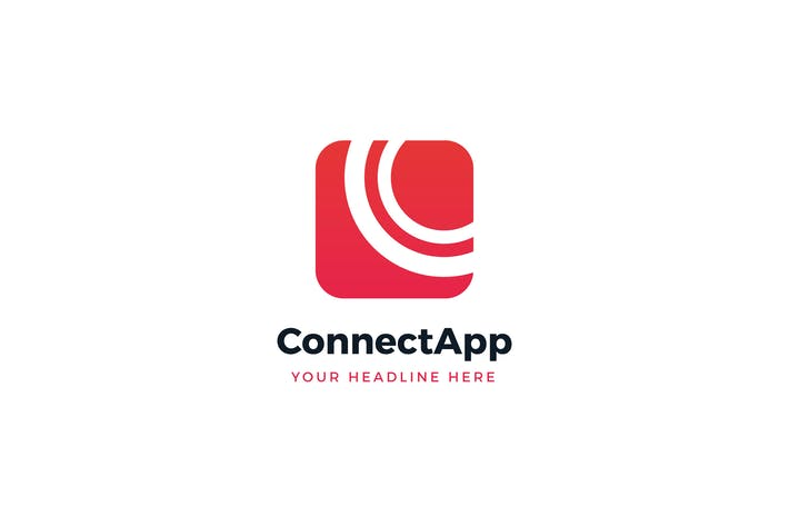 Thumbnail for Connect App Logo Template
