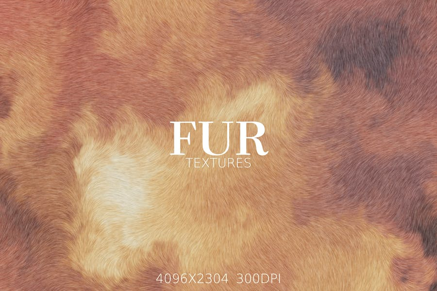 Abstract Fur Textures and Backgrounds