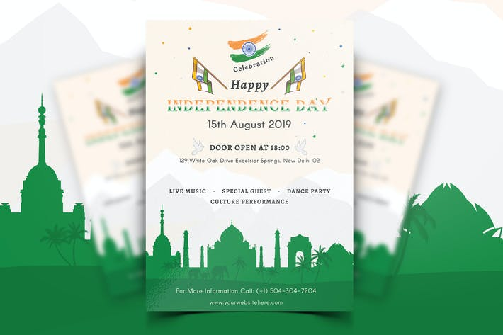Thumbnail for Indian Independence Day Flyer-02