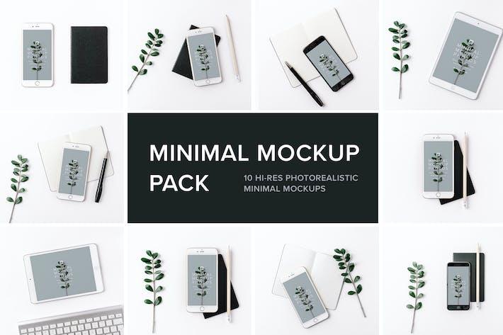 Thumbnail for Minimal Mockup Pack Photorealistic
