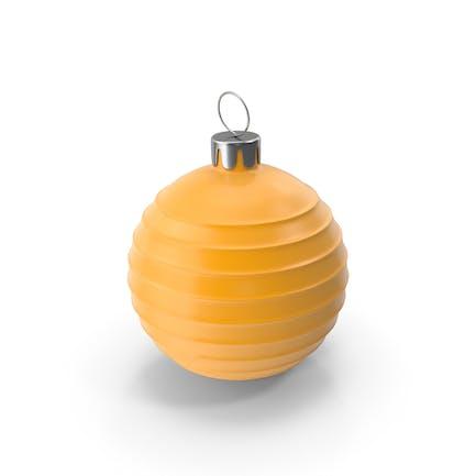 Рождественская елка Игрушка Оранжевый