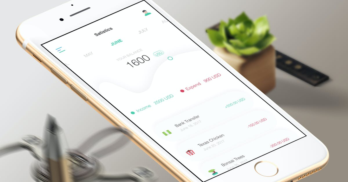 Pay Statistic Mobile Ui - TR by angelbi88